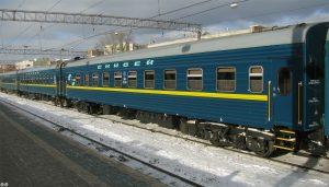 """Состав поезда """"Енисей"""""""